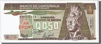 1/2 Quetzal 1988 Guatemala 1988-01-06, KM:...