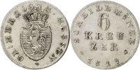 6 Kreuzer 1819 Deutsch Staaten Ludwig X EF(40-45)  85,00 EUR  zzgl. 10,00 EUR Versand
