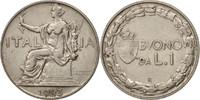 Lira 1923 R Italien Vittorio Emanuele III ...