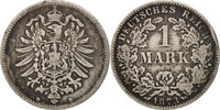 Mark 1873 D GERMANY - EMPIRE Wilhelm I EF(...