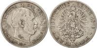 2 Mark 1876 C Deutsch Staaten Wilhelm I EF...