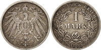 Mark 1892 F GERMANY - EMPIRE Wilhelm II AU...