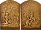 Medal  Frankreich  AU(55-58)  365,00 EUR kostenloser Versand