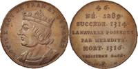 Medal XIXth Centu Frankreich  MS(64)