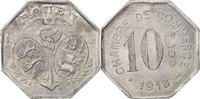 10 Centimes 1918 Frankreich Aluminium, Eli...