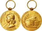 Medal 1963 Frankreich Railway, Excellent Q...