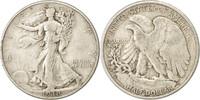 Half Dollar 1938 D Vereinigte Staaten Walk...