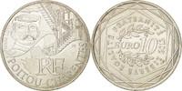 10 Euro 2012 (a) Frankreich UNZ, Silber, K...