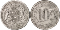 10 Centimes 1920 Frankreich France, Alumin...