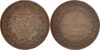 Centesimo 1826 Genoa Italien Staaten SARDI...