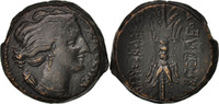 Bronze 295 BC Syra  Sicily, Syracuse, SS+,...