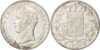 5 Francs 1829 W Frankreich Charles X, Lill...
