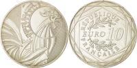 10 Euro 2015 Paris Frankreich Coq, UNZ+, S...