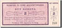 2 Korona 1920 Ungarn Szekesfehervar, Pick ...
