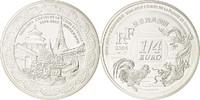 1/4 Euro 2004 Paris Frankreich Silber, KM:...