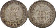 4 Mariengroschen 1708 Deutsch Staaten Brau...