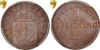 Pfennig 1864 A Deutsch Staaten PRUSSIA, Wi...