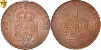 4 Pfennig 1858 A Deutsch Staaten PRUSSIA, ...