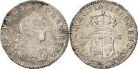 20 Sols, 1/6 ECU 1719 S Frankreich 1/6 Écu...