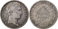 5 Francs 1808 Lille Frankreich Napoléon I VF(30-35)  300,00 EUR kostenloser Versand