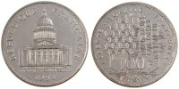 100 Francs 1988 Paris Frankreich Panthéon AU(55-58)  80,00 EUR  zzgl. 10,00 EUR Versand