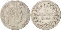 5 Francs 1834 W Frankreich Louis-Philippe ...