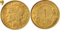 Franc 1944 (l) French West Africa  MS(63)