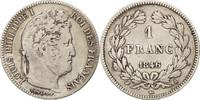 Franc 1846 A Frankreich Louis-Philippe VF(...