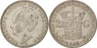 2-1/2 Gulden 1932 Niederlande Wilhelmina I...