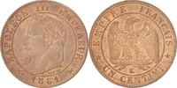 Centime 1861 K Frankreich Napoléon III, Bo...