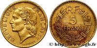 5 francs Lavrillier, bronze-aluminium 1947...