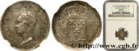 1/4 franc 1833  HENRI V COMTE DE CHAMBORD ...