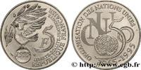 5 francs Cinquantenaire de l'ONU 1995  V R...