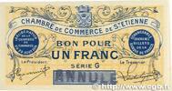 1 Franc 1914 FRANCE regionalism and variou...