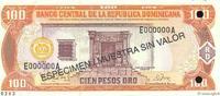 100 Pesos Oro 1997 RÉPUBLIQUE DOMINICAINE ...