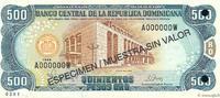 500 Pesos Oro 1998 RÉPUBLIQUE DOMINICAINE ...