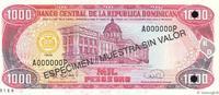 1000 Pesos Oro 1996 RÉPUBLIQUE DOMINICAINE...
