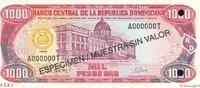 1000 Pesos Oro 1998 RÉPUBLIQUE DOMINICAINE...