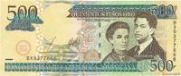 500 Pesos Oro 2003 RÉPUBLIQUE DOMINICAINE ...