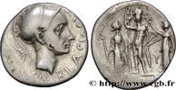 Denier 112-111 AC. THE REPUBLIC (280 BC to...