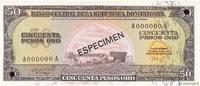 50 Pesos Oro 1975 RÉPUBLIQUE DOMINICAINE R...