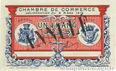 1 Franc 1918 FRANCE regionalism and variou...