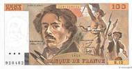 100 Francs DELACROIX modifié 1979 FRANCE F...