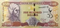 500 Dollars 2012 JAMAICA JAMAICA 500 Dolla...