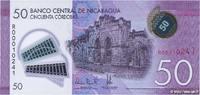 50 Cordobas 2014 NICARAGUA NICARAGUA 50 Co...