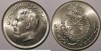1196 Iran Iran, 20 Rials 1974, SUP+/SPL, ...