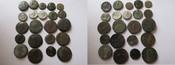 Sammlung Alexandria 300 v.-300n Rom Kleine Sammlung von Münzen aus Alexandria in Ägypten schön, schön-sehr schön