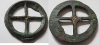 Räder-Applique 3.-2.Jhd.v. Kelten Keltisch...