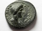 Ae-16 82-96 n. Ch Rom Ae-16 von Domitia, g...