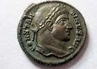 Silbersud-Follis 321-324 n.  Rom Silbersud...